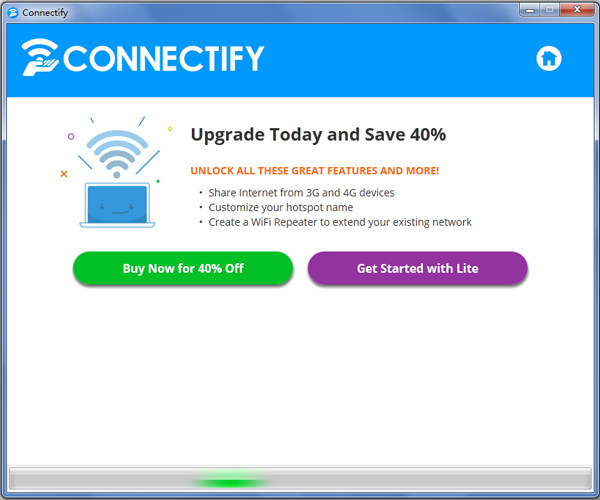 Connectify(无线共享软件) V2016.0.6.37428