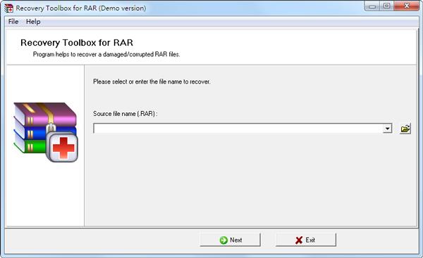 Recovery Toolbox For RAR(文件修复软件) V1.2.17.41 绿色版