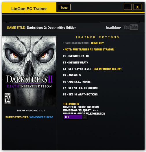 暗黑血统2终极版修改器 V1.0 绿色版