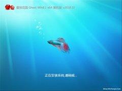 番茄花园Ghost Win8.1 64位 万能装机版v2018.11(免激活)