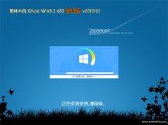 雨林木风Ghost Win8.1x86 极速装机版V2019.01月(绝对激活)