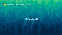 系统之家Windows11 64位 纯净纯净版 2021.08